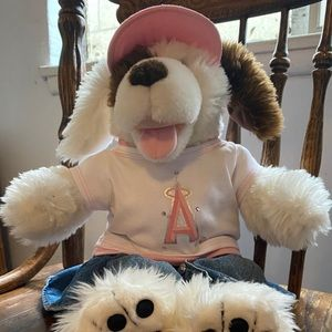 Build-A-Bear Dog In Angels Outfit